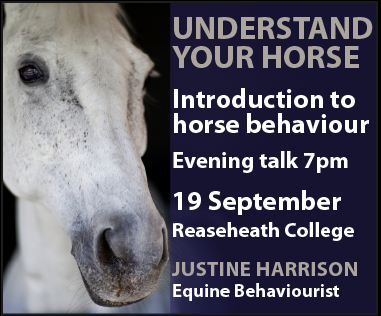 Justine Harrison Talk Reaseheath (North Wales Horse)